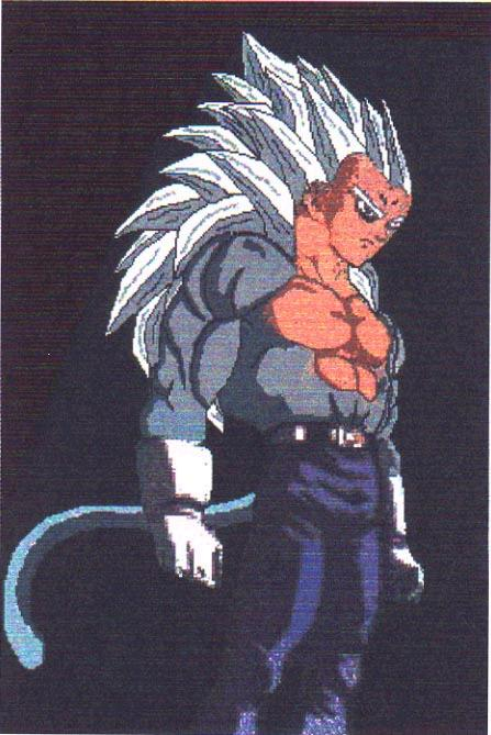 Dragon Ball Z GT super saiyan goku